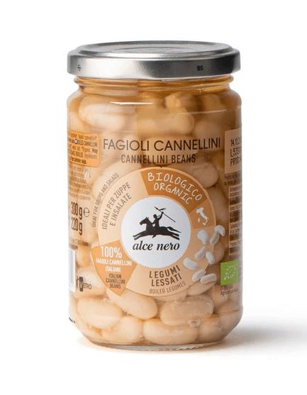 alce nero Cannellini-Bohnen im Glas 300g