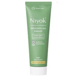 Niyok - Zahncreme aus Bio-Kokosöl: Pefferminze & Zitrone 75ml