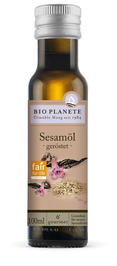 Bio Planète Sesamöl geröstet Fair for Life 6x100ml