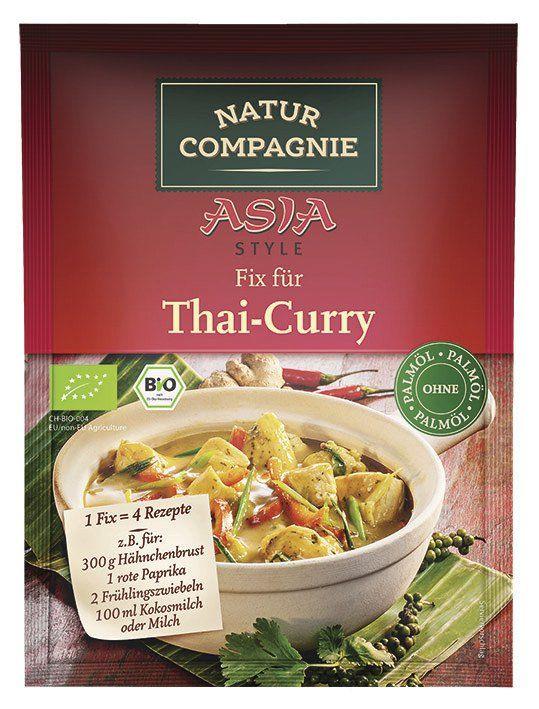 Natur Compagnie ASIA Fix für Thai Curry 12x35g