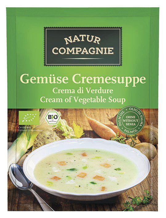 Natur Compagnie Gemüse Cremesuppe 12x43g