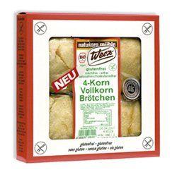 Werz 4-Korn-Brötchen glutenfrei 3x4St