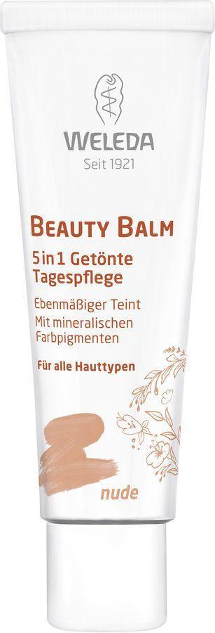 Weleda Beauty Balm nude - 5 in 1 Getönte Tagespflege 30ml