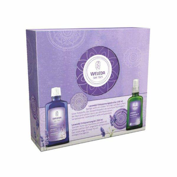 Weleda Geschenkset Lavendel 2018 300ml