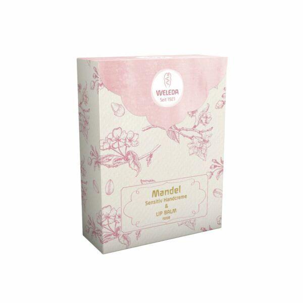 Weleda Geschenkset Lip Balm rose 2018 60ml