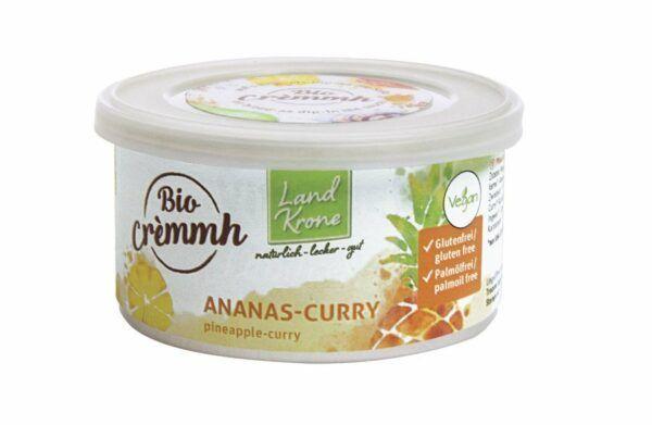 Landkrone Bio Cremmh Ananas-Curry 6x125g