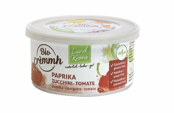 Landkrone Bio Cremmh Paprika-Zucchini-Tomate 6x125g