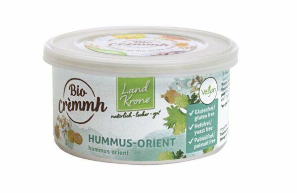 Landkrone Bio Cremmh Hummus-Orient 6x125g