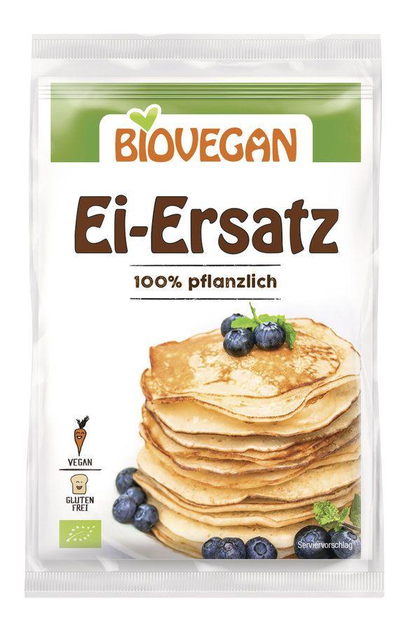 Biovegan Ei-Ersatz, 100% pflanzlich, Bio 12x4x5g
