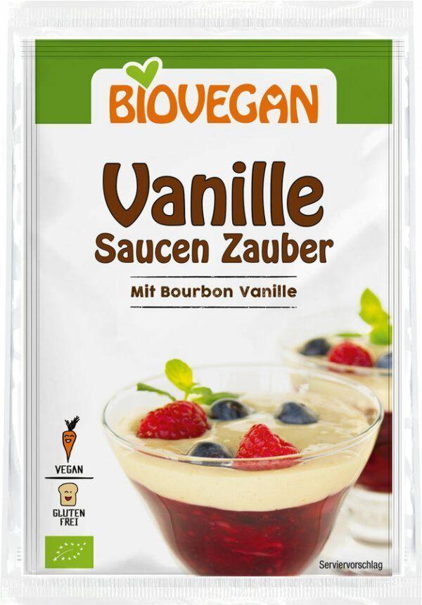 Biovegan Vanille Saucen Zauber, BIO 7x2x19g
