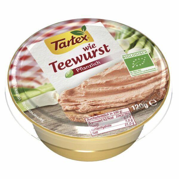Tartex Wie Teewurst 6x120g