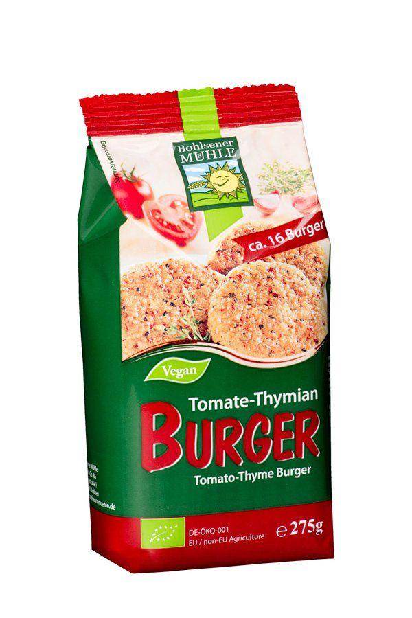 Bohlsener Mühle Tomate-Thymian Burger 6x275g