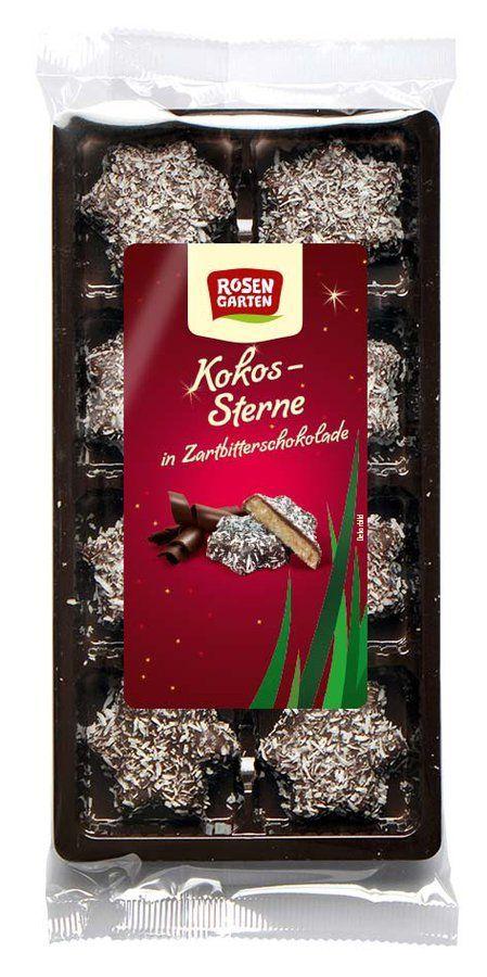 Rosengarten Kokos-Sterne 6x80g