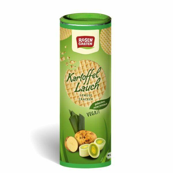Rosengarten Gemüse Cracker Kartoffel-Lauch 6x80g