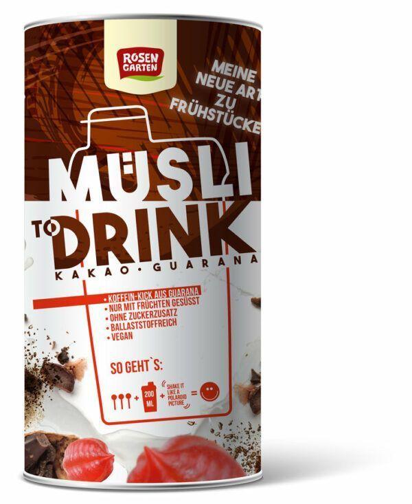 Rosengarten Müsli to Drink - Kakao Guarana 6x500g