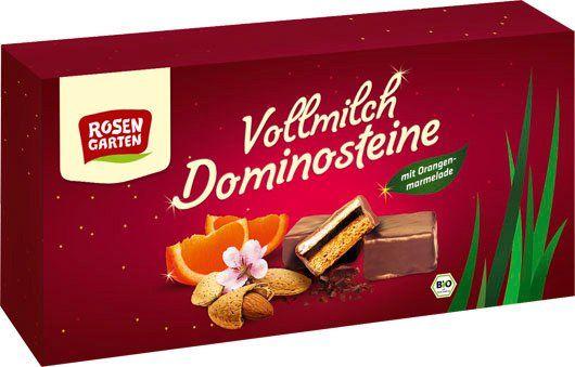 Rosengarten Vollmilch-Dominosteine Orange 6x140g