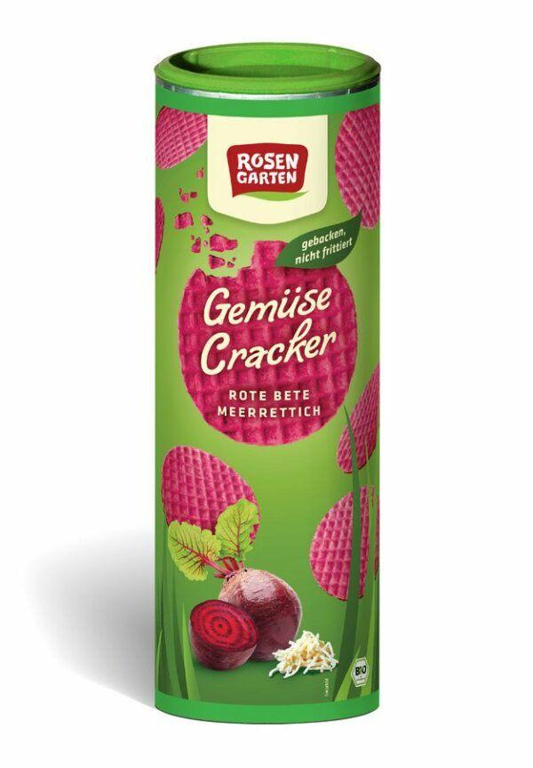 Rosengarten Gemüse Cracker Rote Bete Meerrettich 6x80g