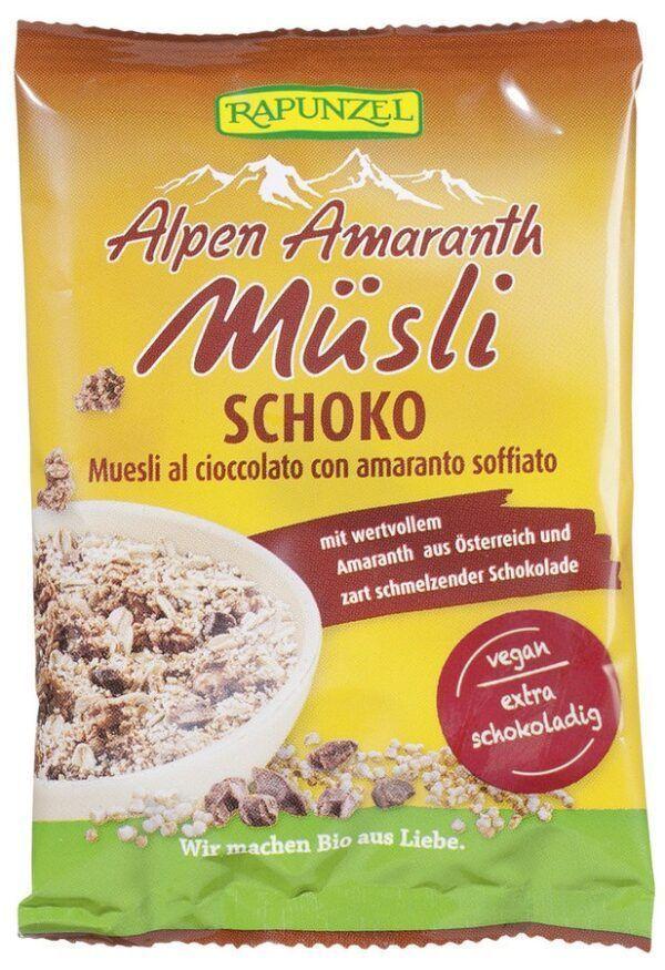 Rapunzel Alpen-Amaranth Müsli Schoko 30x35g