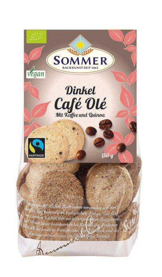 Sommer & Co. FAIRTRADE - Café Olé - Kaffeekekse, vegan 6x150g