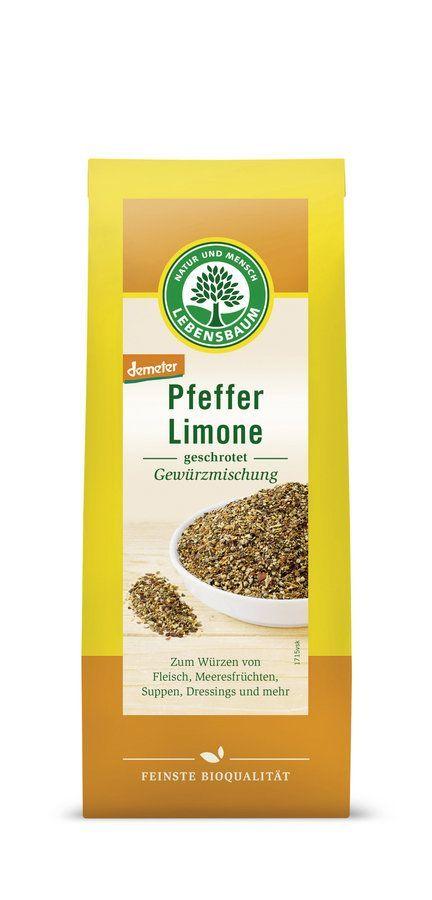 LEBENSBAUM Pfeffer Limone 6x60g