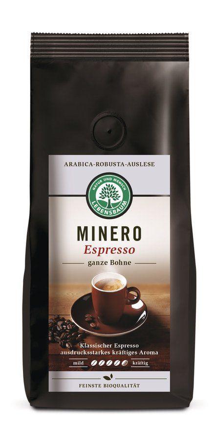 LEBENSBAUM Minero Espresso, ganze Bohne 6x250g