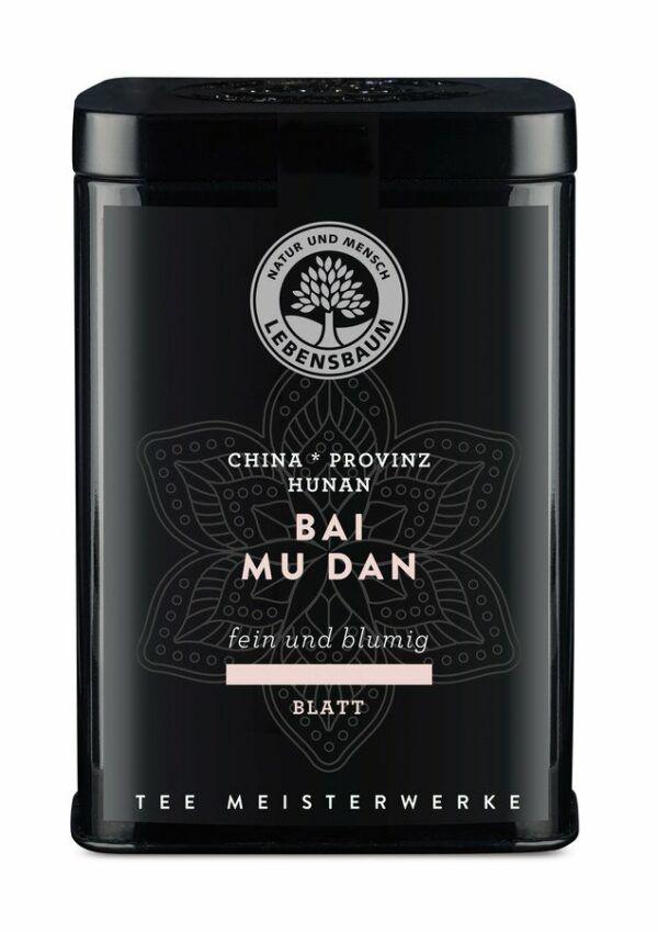LEBENSBAUM Weißer Tee Bai Mu Dan 4x25g