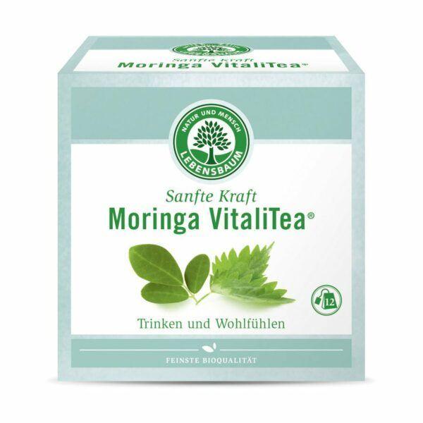 LEBENSBAUM Sanfte Kraft - Moringa VitaliTea® 8x12x2g