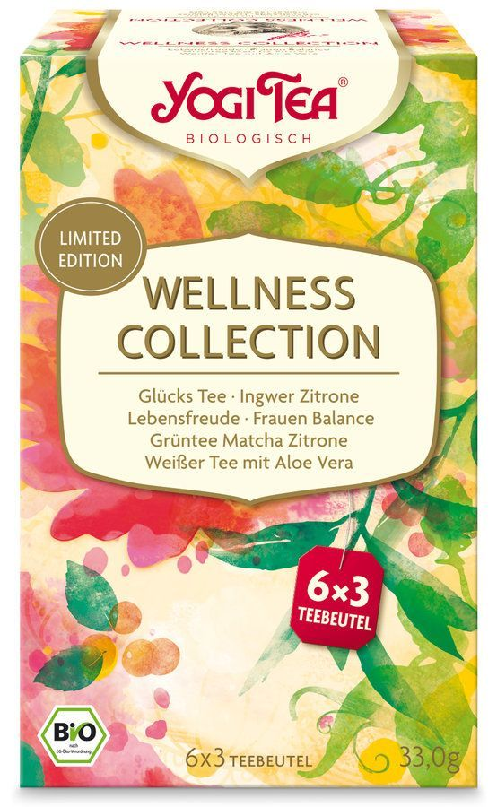 Yogi Tea ® Wellness Collection Bio 6x18St