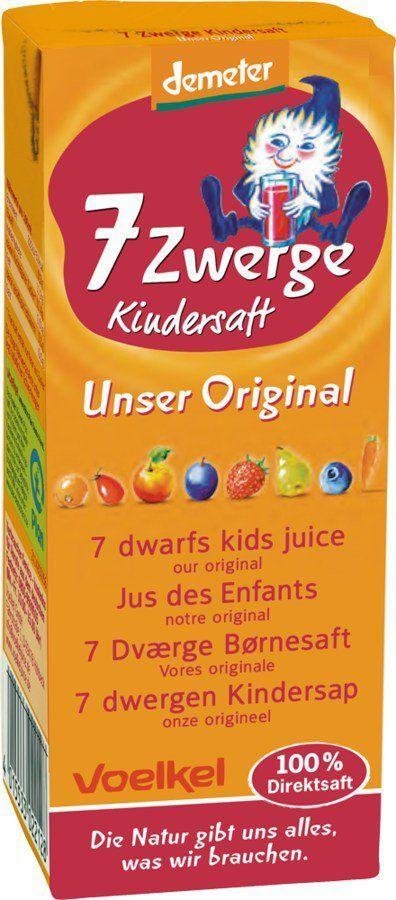 Voelkel 7 Zwerge Kindersaft - Unser Original 10x0,2l