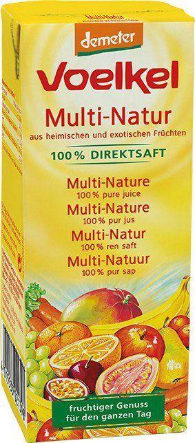Voelkel Multi-Natur - aus heimischen und exotischen Früchten 10x0,2l