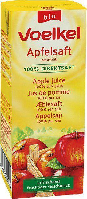 Voelkel Apfelsaft - naturtrüb 0,2l