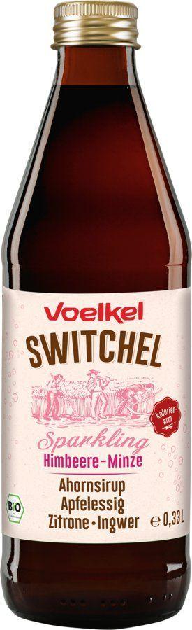 Voelkel Sparkling Switchel Himbeere-Minze 10x0,33l