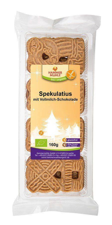 Hammermühle organic Vollmilch Spekulatius biologischerAnbau - glutenfrei 6x