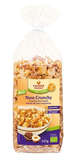 Hammermühle organic BIO Nuss-Crunchy glutenfrei 6x325g