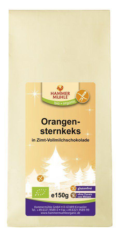Hammermühle organic Orangensternkeks 6x125g