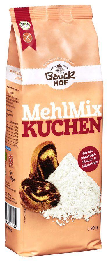 Bauckhof Mehl Mix Kuchen Glutenfrei Bio 800g Online Kaufen
