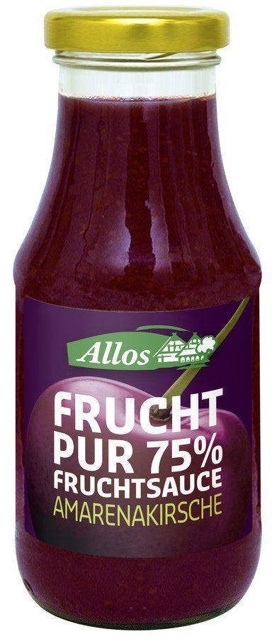 Allos Frucht Pur 75% Fruchtsauce Amarenakirsche 6x250ml