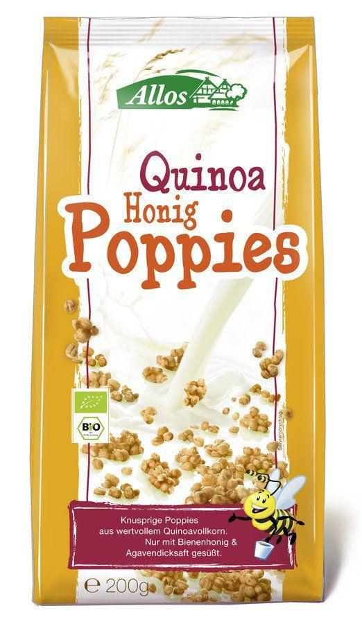 Allos Quinoa Honig Poppies 6x200g