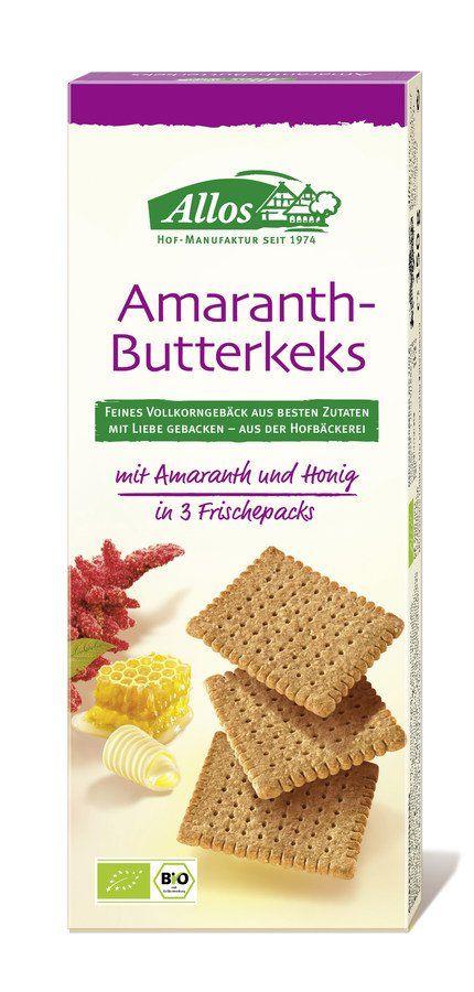 Allos Amaranth-Butterkeks 12x150g