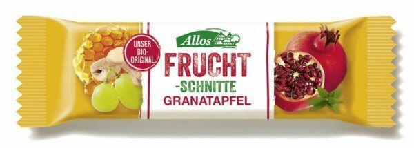 Allos Fruchtschnitte Granatapfel 25x30g
