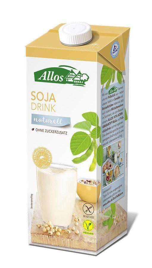 Allos Soja Drink naturell 12x1l