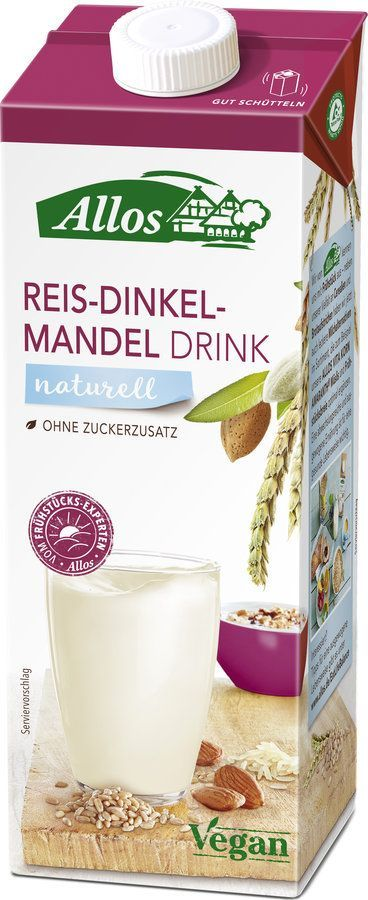 Allos Reis Dinkel Mandel Drink 6x1l