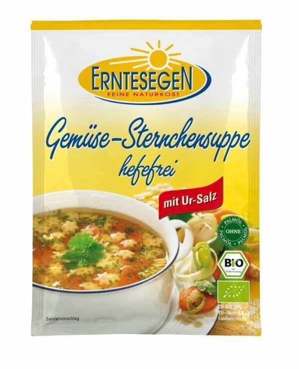 Erntesegen Gemüse-Sternchensuppe hefefrei 12x50g
