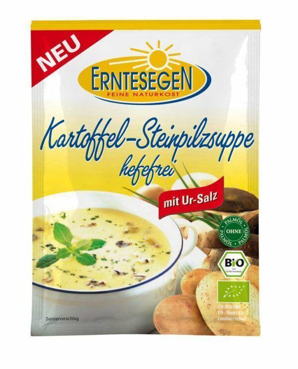 Erntesegen Kartoffel-Steinpilzsuppe hefefrei 12x45g