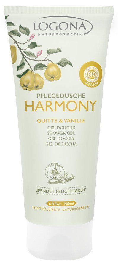 Logona HARMONY Pflegedusche Quitte & Vanille 200ml