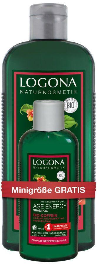 Logona SET Onpack Age Energy Shampoo Bio-Coffein 325ml