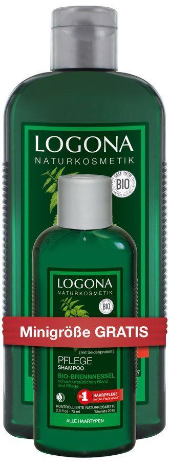 Logona SET Onpack Pflege Shampoo Bio-Brennnessel 325ml