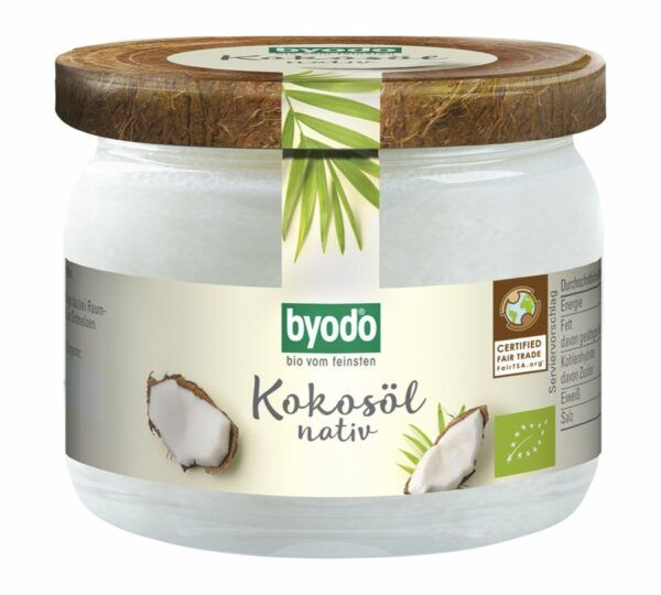 BYODO Byodo Kokosöl, nativ 6x200ml