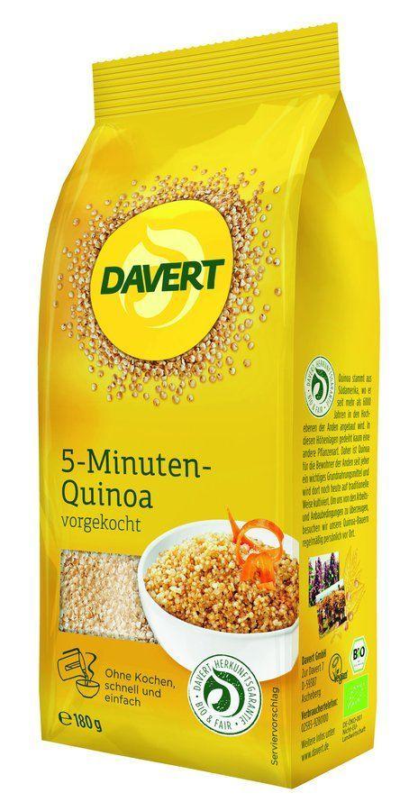 Davert 5-Minuten-Quinoa vorgekocht 6x180g