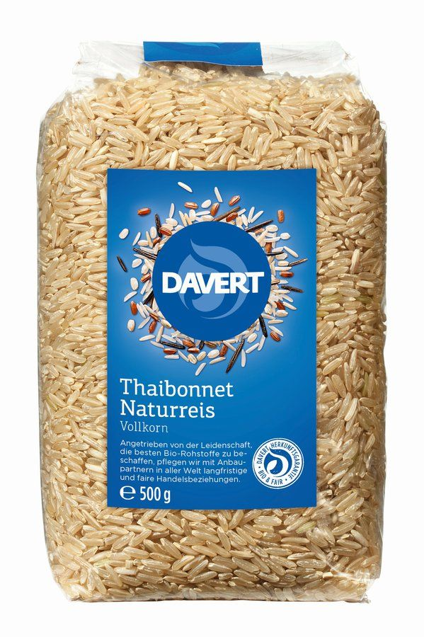 Davert Thaibonnet Naturreis 8x500g